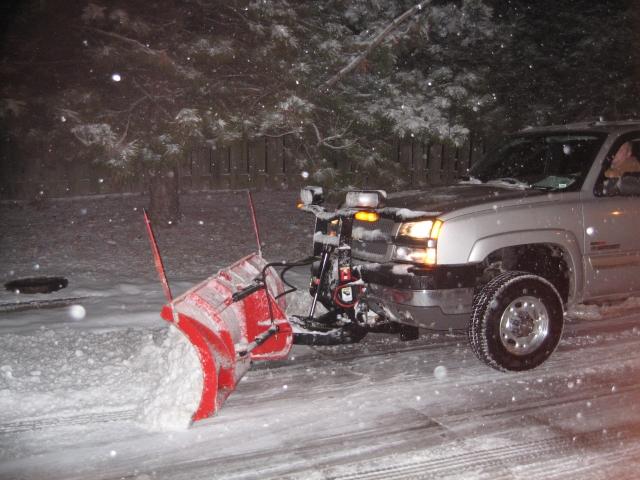 Martz Bros Snow Plow Truck