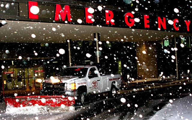 Martz Bros Snow Removal Shawnee Mission Medial Center Hospital