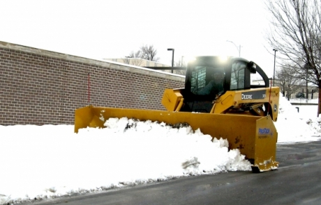 Martz Brothers bobcat snow removal