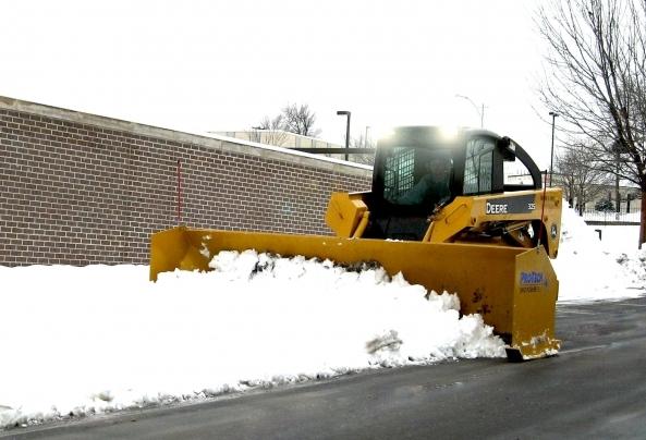 Martz Brothers bobcat snow removal