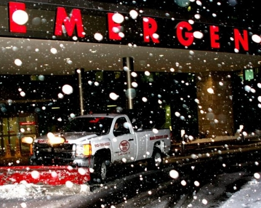 Shawnee Mission Medical Center Snow
