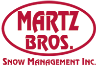 Martz Bros Snow Logo